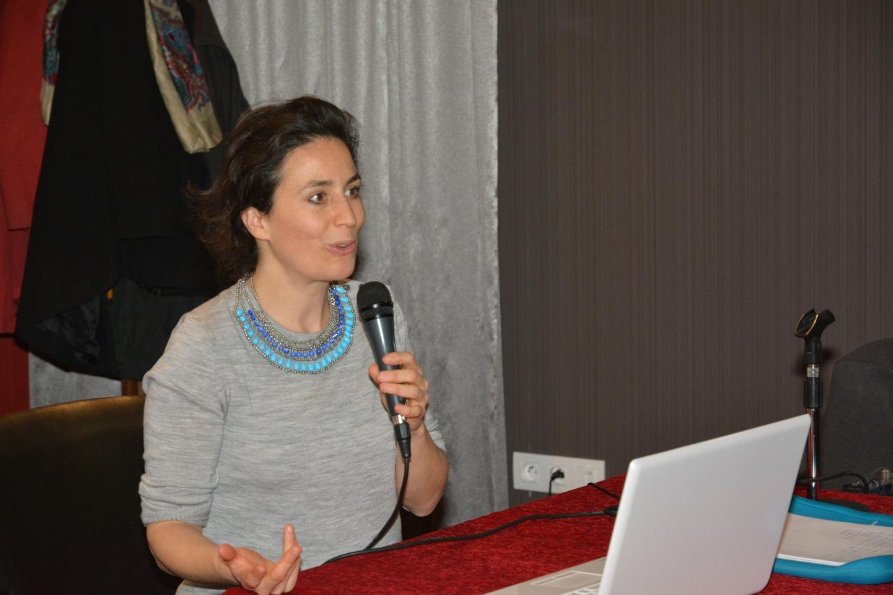 Céline Doutriaux plongée dans l'univers de Sonia Delaunay