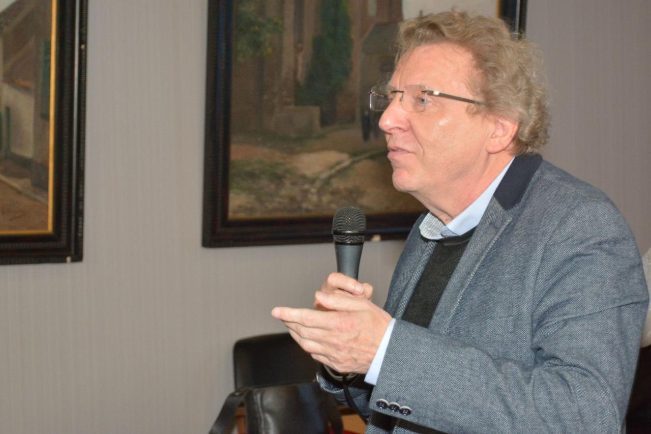Patrick Bodelle, élu au Conseil d'Administration  de l'association