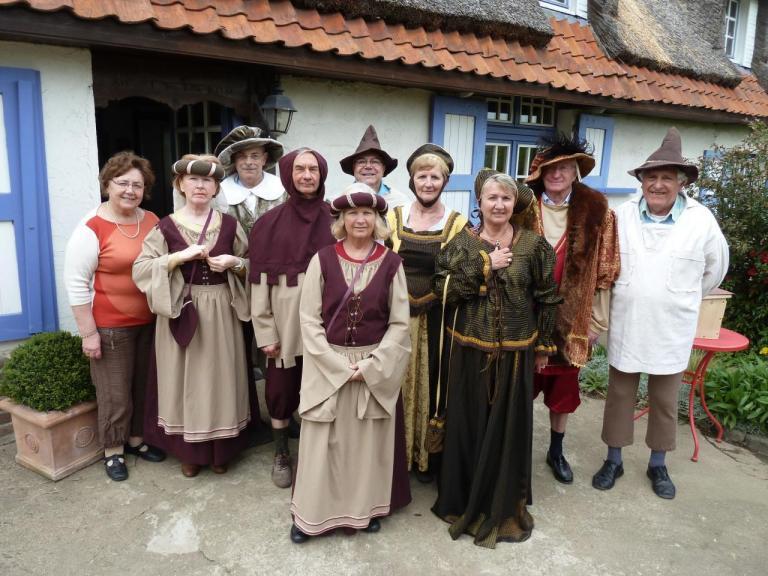 Nuit des Musées 2013 : Essayage des costumes