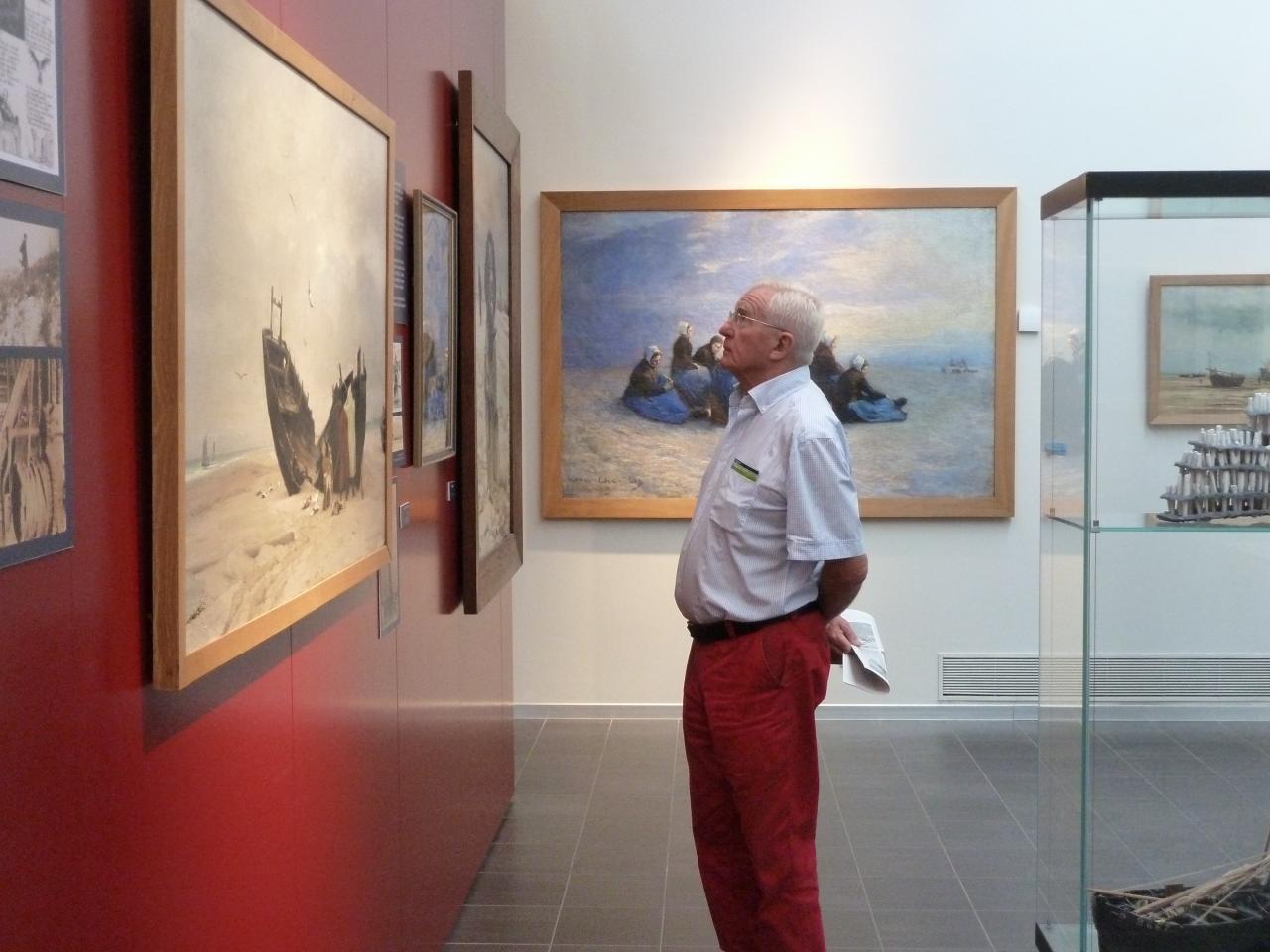 Visite du musée de Berck : exposition Lepic