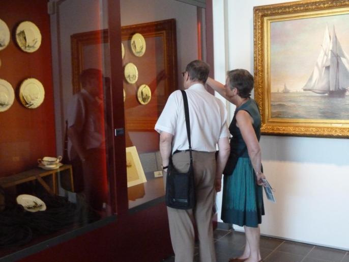 Visite du musée de Berck : le département des antiquités