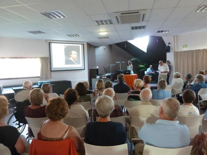 Le Touquet : conférence sur Rubens