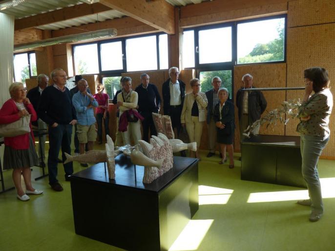 La sculptrice Sylvie Koechlin présente ses oeuvres