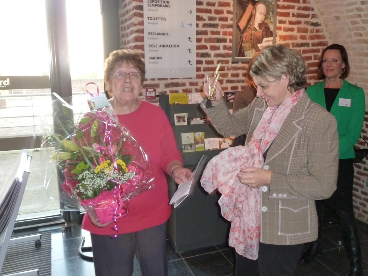 Un bouquet en remerciement